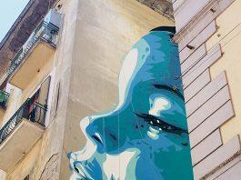 Alla Pignasecca, un murales per Mattia Fagnoni e i bambini colpiti da malattie rare